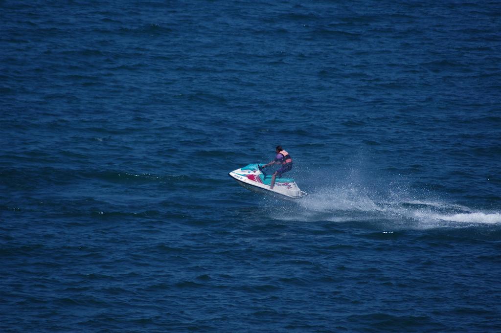 Jet skiing Marbella